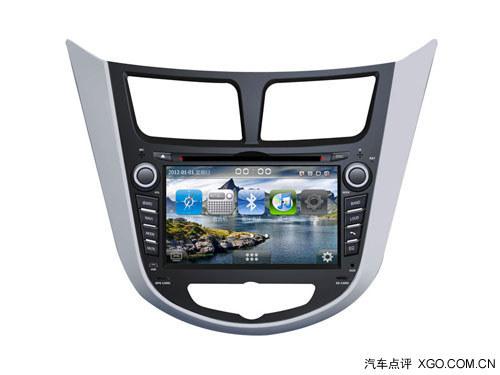 索航dvd导航一体机 现代瑞纳 电容屏